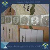 Dreidimensionale Muster-UVkarte mit Mikrotext und Wasserzeichen