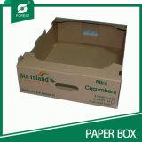 Personalizarse bandeja de papel de calidad de las frutas Stong