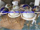 Hete Yaye 18 verkoopt de Bol van de Halfedelsteen van 330mm/450mm/550mm/650mm, de Bol van de Wereld, Giften en Ambachten