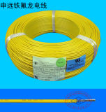 600V 250 alambre del certificado de la UL del Teflon del grado PTFE