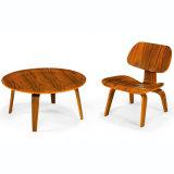 합판 Lcw 의자 거실 여가 의자 (T093)