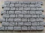 Pietra naturale grigia scura del cubo del granito di spaccatura G654