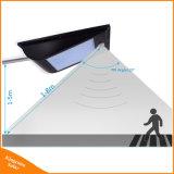En el exterior IP65, 1000 Lumen LED de 81 de la calle solar integrada del sensor de movimiento de la luz de lámpara solar