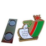 Divisa de encargo del metal del epóxido de la impresión de la insignia de la alta calidad con el imán para el regalo del asunto (YB-Lp-32)