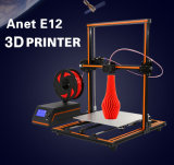 De New Design E12 Metal DIY 3D Printer van Anet
