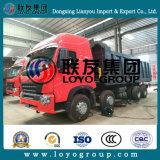 High quality HOWO A7 8X4 dump Truck for halls