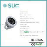 12W FOCO LED impermeable para el paisaje, la iluminación de la ciudad (SLS-24A)