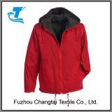Resguardo de chuva reversível para homens com Forro de velo polar