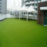 Grama artificial para a paisagem erva espessa