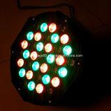 крытый свет РАВЕНСТВА 64 RGB СИД диско этапа 36X3w
