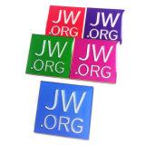 Métal émaillé JW. Org Épinglette en vrac