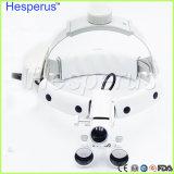 lupas dentais Hesperus do diodo emissor de luz da operação do cirurgião do Magnifier 2.5X