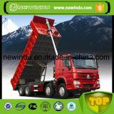 Tombereau 6X4 de camion à benne basculante de roues de HOWO 10 avec des bonnes conditions pour l'Afrique