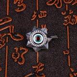 L'uso del ricordo ed il materiale del metallo hanno inciso sei militari del distintivo della stella
