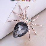 Broche de bijou de mode d'araignée