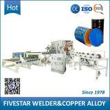 Equipamento de soldagem automática para máquina de fabricação de tambor de aço