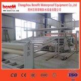 Non linea di produzione impermeabile della bobina del bastone di auto dell'asfalto, linea di produzione bituminosa della membrana