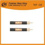 Directa de Fábrica china de 50 ohmios RG213 Cable coaxial con 7*0.752mm Conductor de cobre