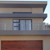 Pasamano/barandilla sólidos de Rod del acero inoxidable para el balcón y la escalera