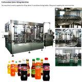 ビール飲料ジュースのための自動ガラスビンの炭酸飲料の充填機