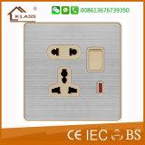Soquete 220V do Shaver da parede do soquete elétrico do banheiro da boa qualidade