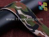 حرارة (إنتقال) طباعة تمويه بوليستر شريط منسوج لأنّ عسكريّة حقيبة أو جيش حزام سير