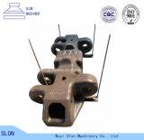 Het hoge Staal KOMATSU pc3000-6 van het Mangaan de Draaiende Schoen van het Spoor van de Delen van de Maalmachine