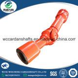 Una buena calidad de transmisión Industrial SWC de piezas de tamaño medio del eje universal para la banda de rodadura de acero