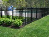 環境に黒い鋼鉄に庭の囲うこと