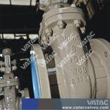 A API Vatac 600 SO de aço fundido flangeado válvula gaveta de haste ascendente