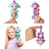 Новая самая горячая оптовая взаимодействующая обезьяна Fingerlings игрушки перста