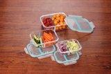高い抵抗力があるガラス食事のPrepserveの食糧容器