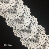 6cm outre de la garniture blanche de lacet de Venise laisse à branchement le tissu nuptiale Hmhb1376 de lacet