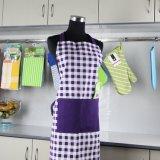 2018 Eco-Friendly Grosso Moda Impresso Personalizado 300gsm avental de cozinha cozinha algodão pesado