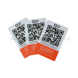 In Scheckkartengröße kontaktlose intelligente NFC Karte der Gutschrift-Cr80 der Hochfrequenz13.56mhz