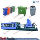 Máquina energy-saving servo da modelação por injeção para o balde do lixo elevado do plástico da dureza