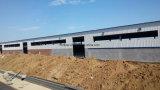 Estructura de acero constructiva de fabricación del metal ligero prefabricado con bajo costo