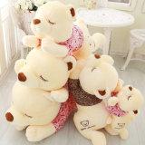 Het slaap het Liggen Reusachtige Stuk speelgoed van de Pluche van de Teddybeer voor Creatieve Gift