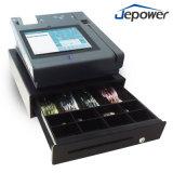 Jepower T508 tout en un seul écran tactile Android soutien POS bornes WiFi/3G/NFC/Mag-Card/IC-Card// d'empreintes digitales de l'imprimante thermique