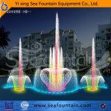 Цветастый фонтан танцы управлением нот мультимедиа