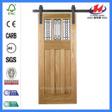 Factory Style popular halls There panel barn Door