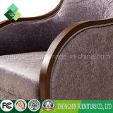 広東省の製造業者の製造者バロック式様式ファブリック肘掛け椅子の単一のソファーの椅子