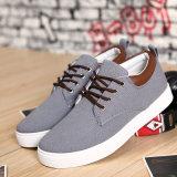 La tendance neuve de la version coréenne en gros directe d'usine de chaussures des hommes des chaussures occasionnelles de mode britannique