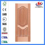 Jhk-000 Nouveau design 1 + 1 panneau Home Sapelli Door Skin
