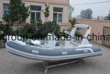 Taxi de l'eau de Liya 17feet 70HP à vendre le canot en caoutchouc du bateau 5.2m de vitesse de fibre de verre