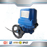 Hecho en el actuador eléctrico de China que calienta el acero inoxidable eléctrico de la vávula de bola