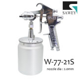 Sawey W-77-21s 압력 수동 분무 노즐 전자총