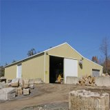 닭 헛간 또는 차 포트 또는 상품 집 강철 구조물 작업장