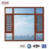 Französische Aluminiumlegierung-Flügelfenster-Türen und Windows mit Gitter-Entwurf