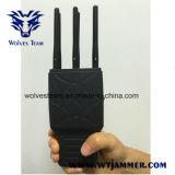Handbediende 6 Banden Al Stoorzender van het Signaal Cellphone en WiFi met Nylon Geval